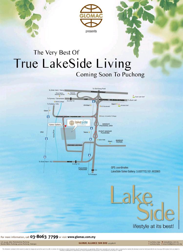LakeSide Residences @ Puchong, Selangor