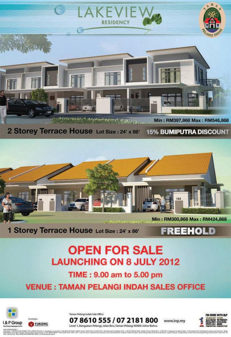 Lakeview Residency @ Taman Pelangi, Johor