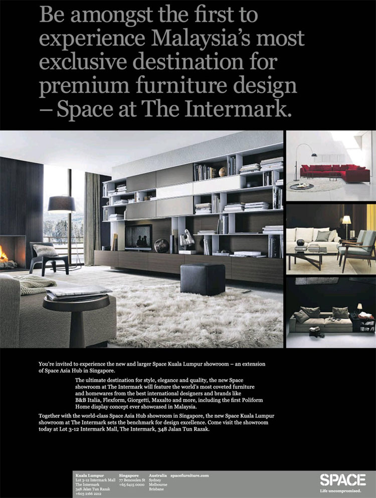 Advertisement: Space @ The Intermark, KL