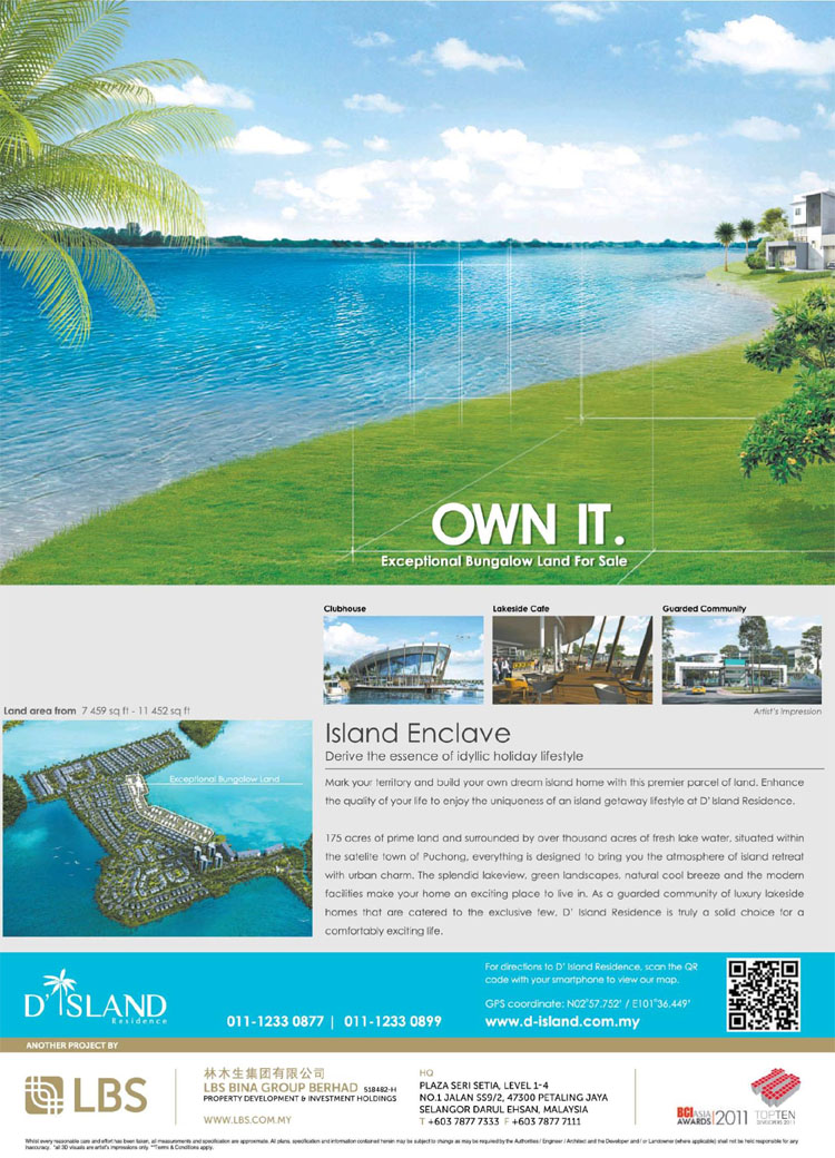 Advertisement: D'Island Residence @ Puchong, Selangor